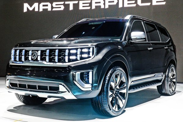 2019 Kia Mohave Masterpiece