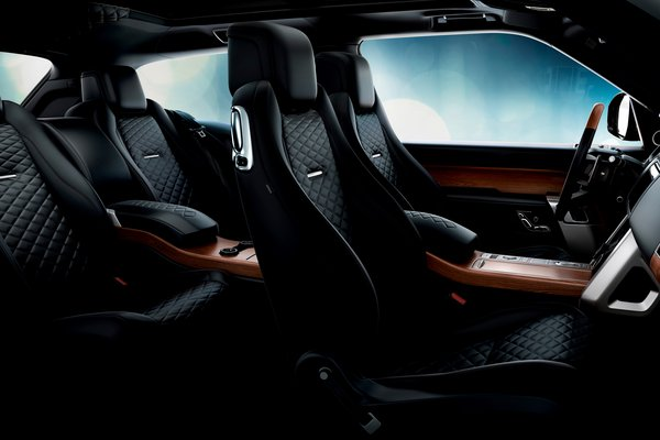 2019 Land Rover Range Rover SV Coupe Interior