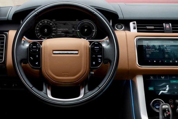 2019 Land Rover Range Rover Sport P400e Instrumentation