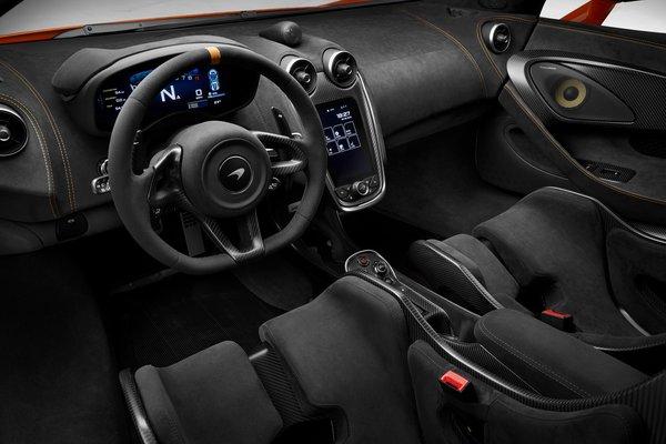 2019 McLaren 600 LT Interior
