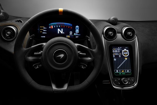 2019 McLaren 600 LT Instrumentation