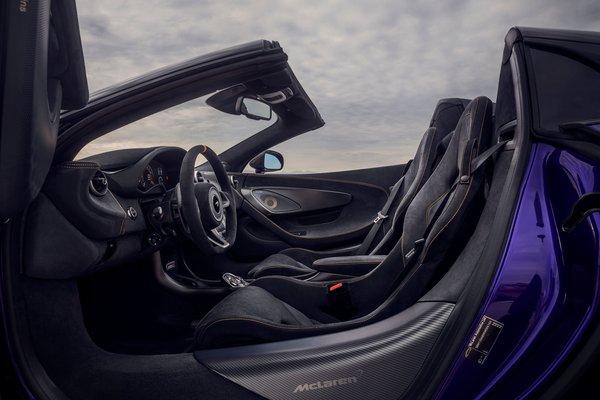 2019 McLaren 600 LT Spider Interior