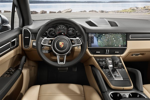 2019 Porsche Cayenne Instrumentation
