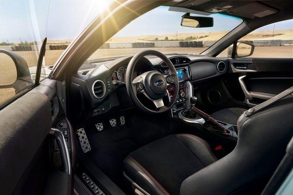 2019 Subaru BRZ Series.Gray Interior