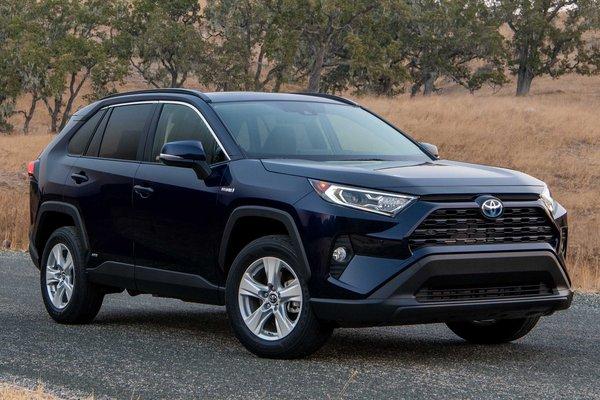 2019 Toyota Rav4 XLE HV