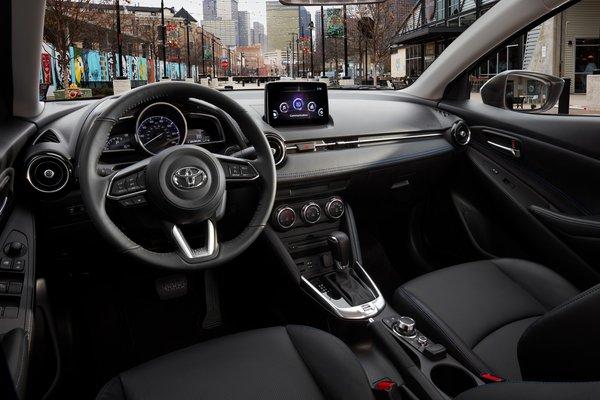 2019 Toyota Yaris sedan Interior