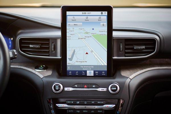 2020 Ford Explorer Platinum Instrumentation