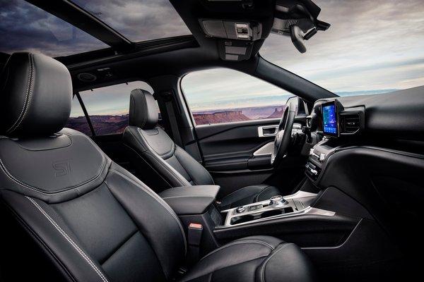 2020 Ford Explorer ST Interior