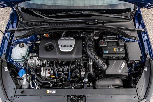 2019 Hyundai Elantra GT N Line Engine