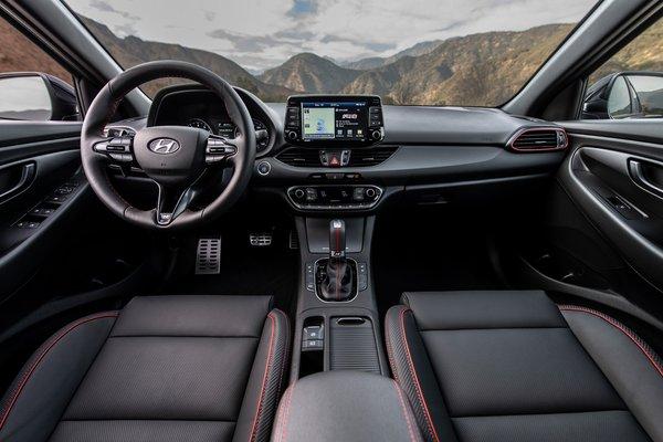 2019 Hyundai Elantra GT N Line Interior