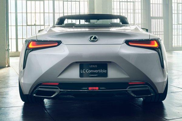 2019 Lexus LC Convertible