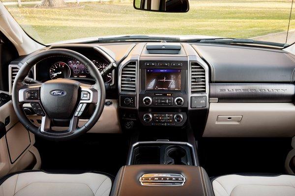 2020 Ford Super Duty F-450 Interior