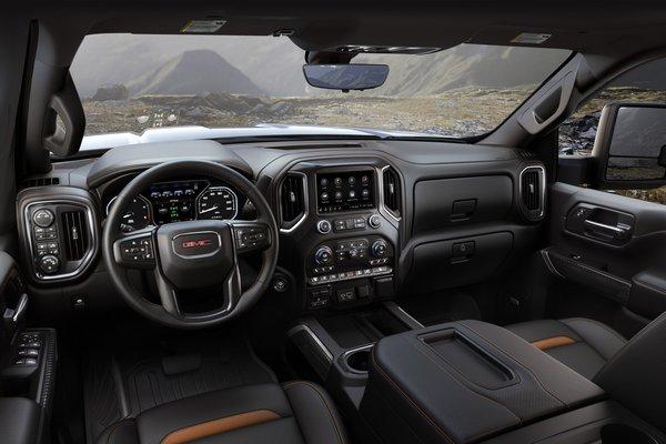 2020 GMC Sierra 2500HD AT4 Interior