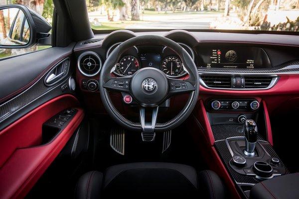 2019 Alfa Romeo Stelvio NRING Instrumentation