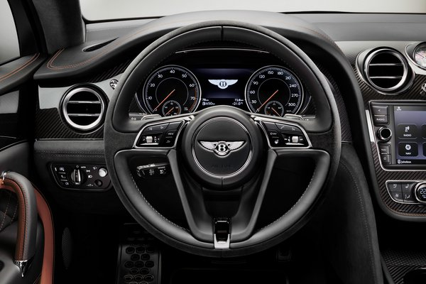 2020 Bentley Bentayga Speed Instrumentation