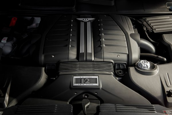 2020 Bentley Bentayga Speed Engine