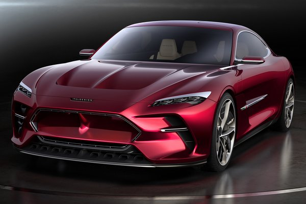 2019 ItalDesign Da Vinci