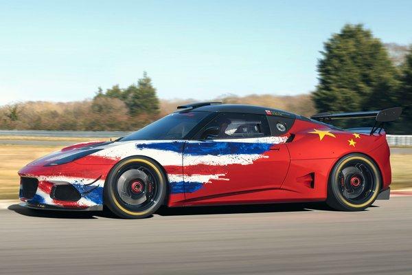 2019 Lotus Evora GT4