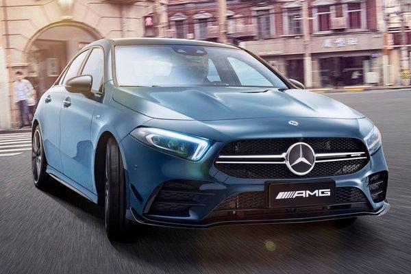 2019 Mercedes-Benz A-Class AMG A 35 L 4MATIC
