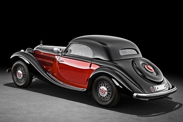 1938 Mercedes-Benz 320n combination coupe
