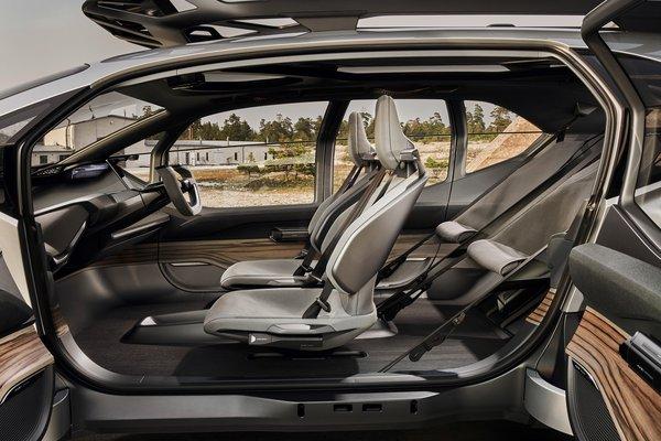2019 Audi AI:Trail Interior