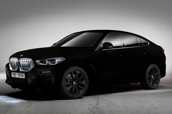 2019 BMW X6 in Vantablack