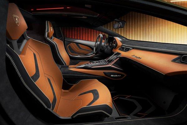 2020 Lamborghini Sian Interior