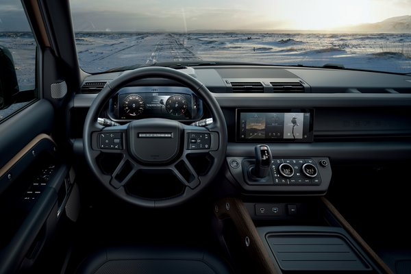 2020 Land Rover Defender 90 Instrumentation