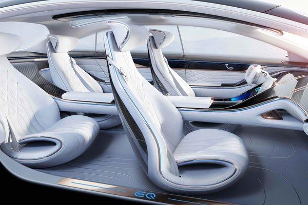 2019 Mercedes-Benz Vision EQS Interior