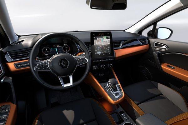 2020 Renault Captur Interior