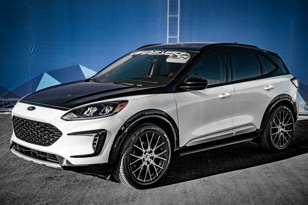 2019 Ford Escape Sport Hybrid by Air Design USA