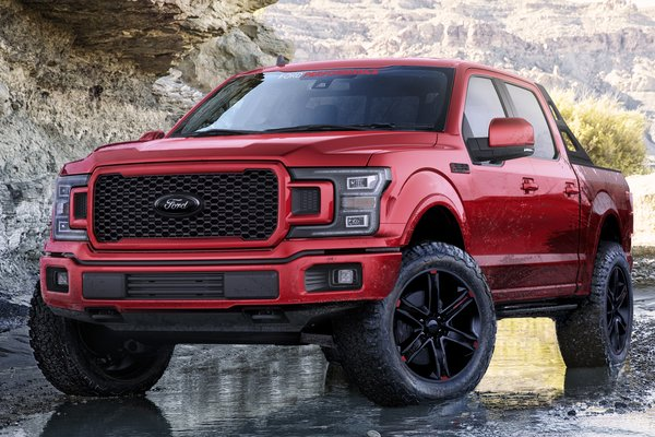 2019 Ford F-150 Lariat Sport Crew Cab by Ford Accessories