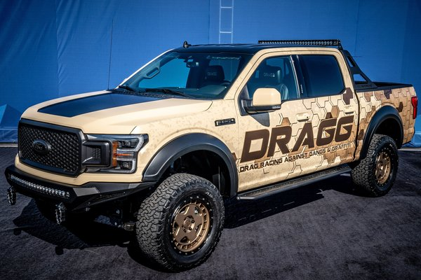 2019 Ford F-150 Lariat Sport SuperCrew 4x4 by DRAGG