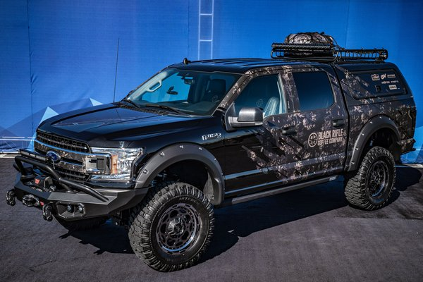 2019 Ford F-150 XLT SuperCrew FX4 by J Robert Marketing and Attitude Performance