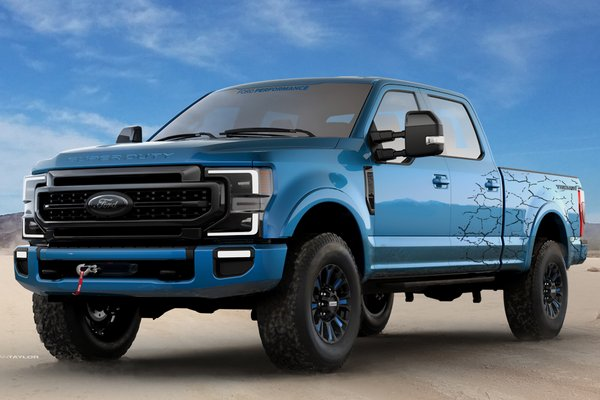 2019 Ford F-250 Super Duty Tremor Crew Cab by Ford Accessories