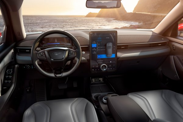 2021 Ford Mustang Mach-E Interior