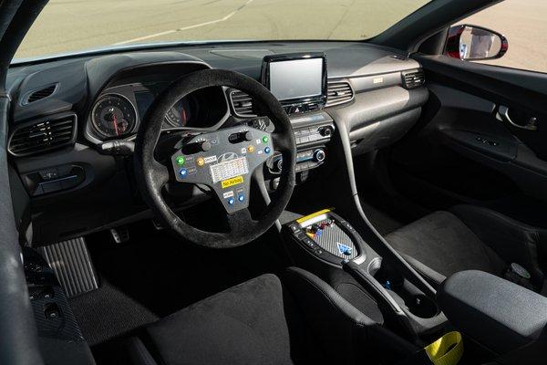 2019 Hyundai RM19 Prototype Interior