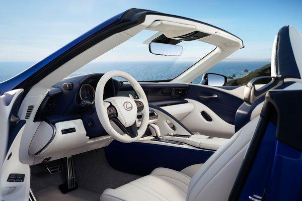 2021 Lexus LC Convertible Interior