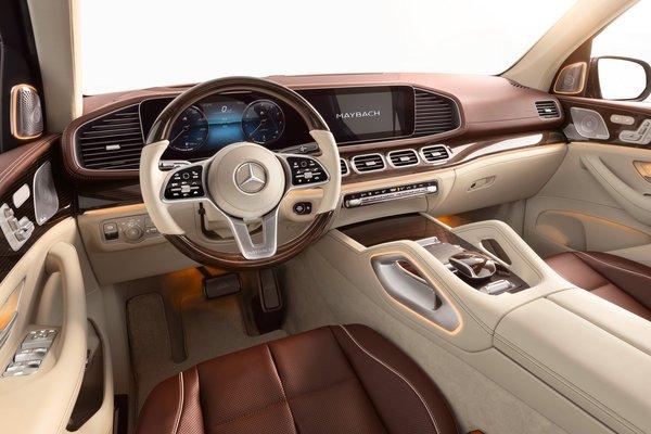 2021 Mercedes-Benz GLS-Class Maybach GLS 600 Interior