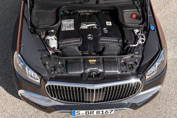 2021 Mercedes-Benz GLS-Class Maybach GLS 600 Engine