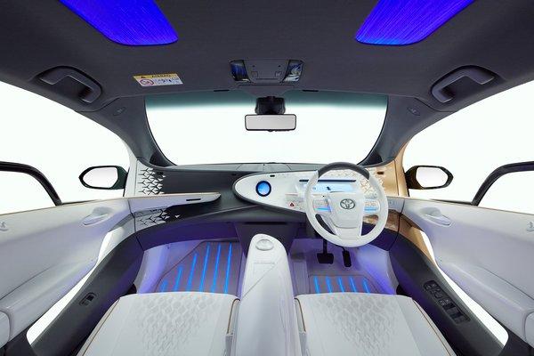 2019 Toyota LQ Interior