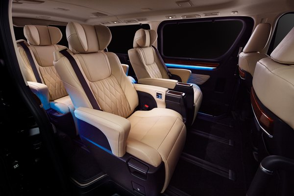 2020 Toyota Granace Interior