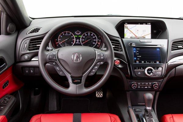 2020 Acura ILX A-Spec Instrumentation