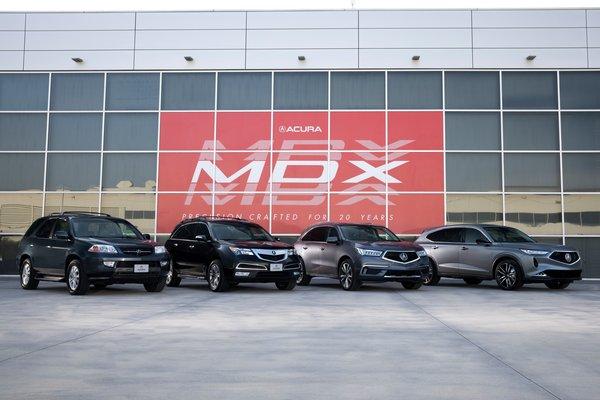 2020 Acura MDX generations