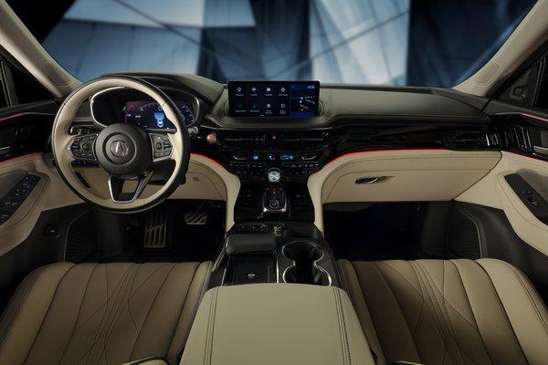 2020 Acura MDX Prototype Interior