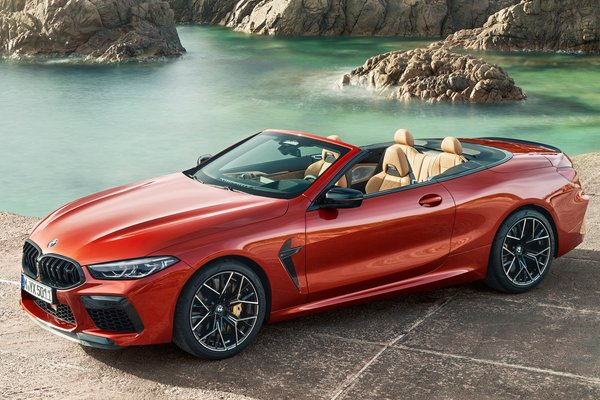 2020 BMW 8-Series M8 Competition convertible