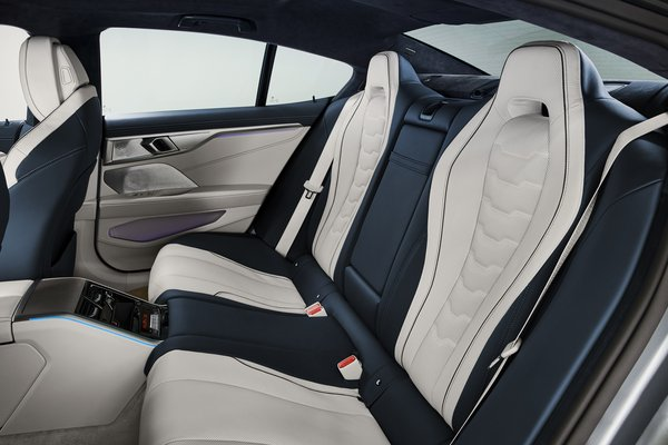2020 BMW 8-Series Gran Coupe Interior