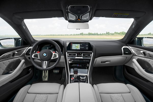 2020 BMW 8-Series M8 Gran Coupe Competition Interior