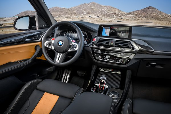 2020 BMW X3 M Competition Interior