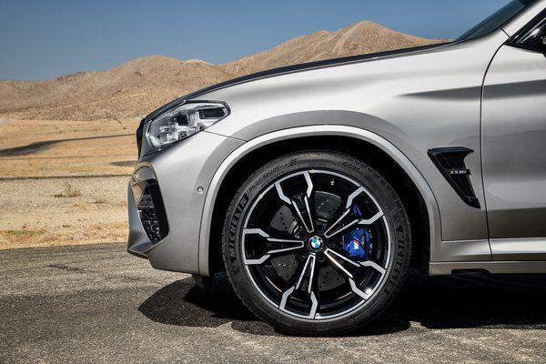 2020 BMW X3 M Competition Wheel